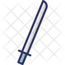 Big Sword Machete Medieval Weapon Icon