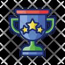 Big Win Trophy Achivement Icon