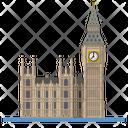 Bigben Parliament London Icon
