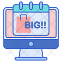 Biggest Online Shopping Day Online Shopping Day Best Shopping Icon