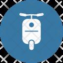 Bike Motorcycle Transport Icon
