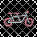 Bike Wedding Icon
