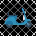 Bike Travel Transport Icon