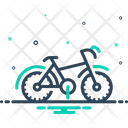 Bike Motorcycle Cyclist Icon