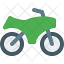 Motocross Bike Bicycle Icon