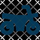 Bike Motorbike Transport Icon