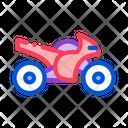Car Extreme Sport Icon