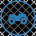 Drive Journey Bike Icon