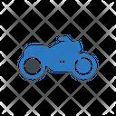 Bike Bullet Travel Icon