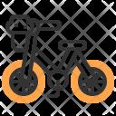 Bike Cycle Transportation Icon