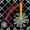 Bike Bicycle Wheel Icon
