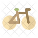 Bike Travel Tourist Icon