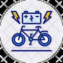 Bike Charging Station Icon