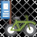 Bike Advertising Icon