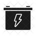 Bike Battery Battery Starter Icon