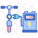 Bike Charging Station Icon