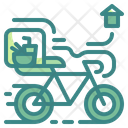 Bike Delivery Icon