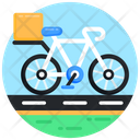 Delivery Cycle Bike Delivery Delivery Bicycle Icon
