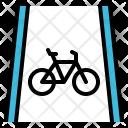Bike Lane Icon