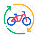 Bike Sharing Services Icon