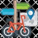 Bike Cycling Cycle Race Icon