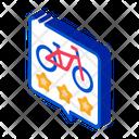 Star Rating Bike Icon