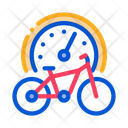 Bike Use Time Icon