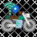 Bike Tracking Icon