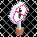No Bike Bike Forbid Bike Warning Icon