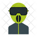 Biker Man Avatar Icon