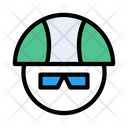 Biker Race Face Icon