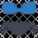 Bikini Lingerie Underwear Icon