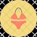 Bikini Bra Swimsuit Icon