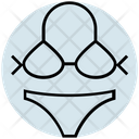 Summer Bikini Clothes Icon