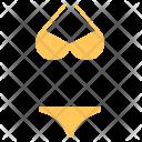 Bikini Innerwear Beach Icon