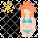 Bikini girl Icon