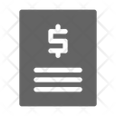 Bill Tax Invoice Icon