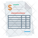 Bill Receipt Payment Icon