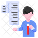 Bill Contract Business Icon