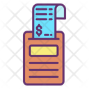 Bill Payment Bill Machine Icon