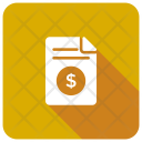 Bill Invoice Tax Icon