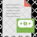 Bill Check Invoice Icon