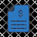 Bill Report File Icon