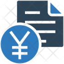 Business Financial Bill Icon