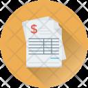 Bill Voucher Invoice Icon