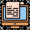Bill Electronic Data Icon