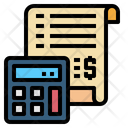 Calculator Bill Invoice Icon