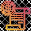 Money Document Finance Icon