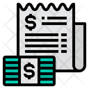 Bill Cash Money Icon