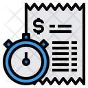 Bill Schedule Payment Icon